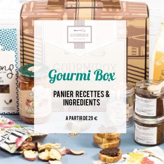 Gourmi box : panier recette et ingrédients