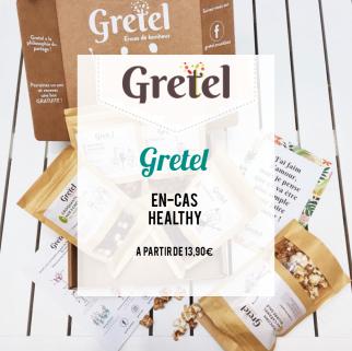 Gretel : en-cas healthy